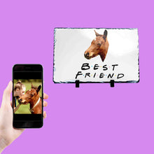 Load image into Gallery viewer, Best Friend Horse Photo Slate
