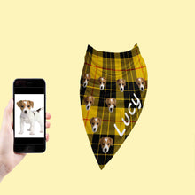 Load image into Gallery viewer, Cool Tartan Dog Bandana
