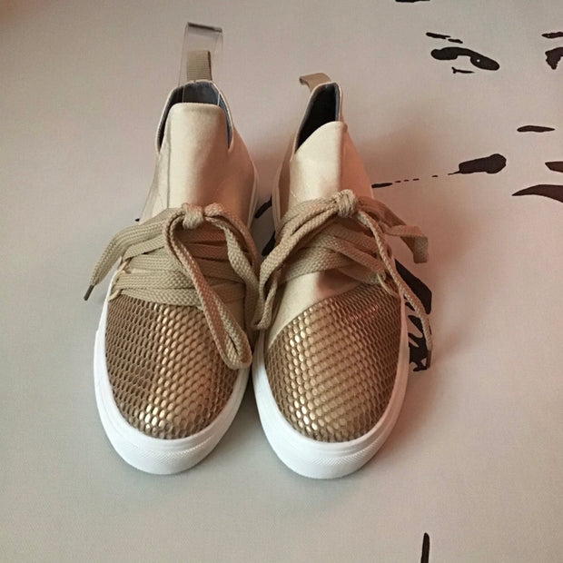 Under the Net Canvas Sneaker