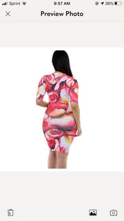 A Bed of Roses Sheath Dress