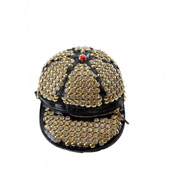 No Cap Rhinestone Backpack