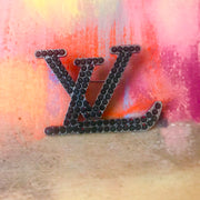 Large LV Designer Inspired Brooch