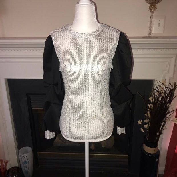 Disco Days Sequin Blouse