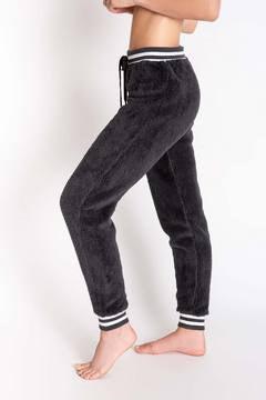 Banded Jogger Pant in Charcoal by PJ Salvage