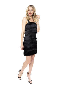 Peppa dress in Black by Julie Brown