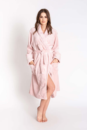 Luxe Bathrobe in Rose Quartz by PJ Salvage