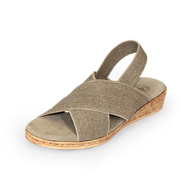 Atlantic Shoe in Linen by Charleston Shoe Company