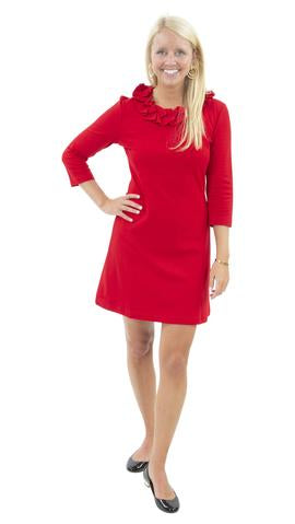 Cricket Dress in Red Ponte by Sailor Sailor