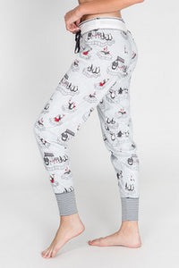Jammie Pant VIP in silver by PJ salvage RKVPP2