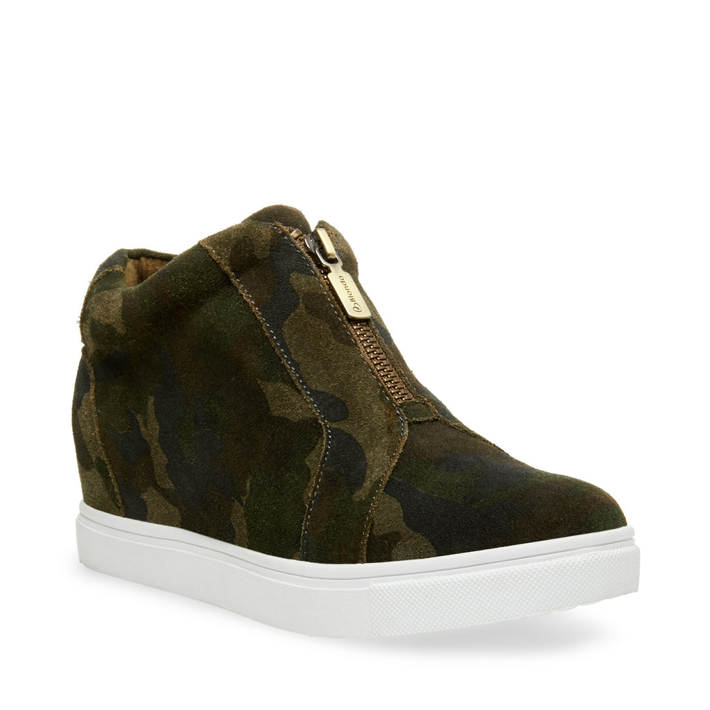 Glenda Boot In Camoflage Suede by Blondo