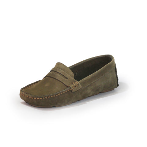 Tradd Shoe in Olive by Charelston Shoe Comapny