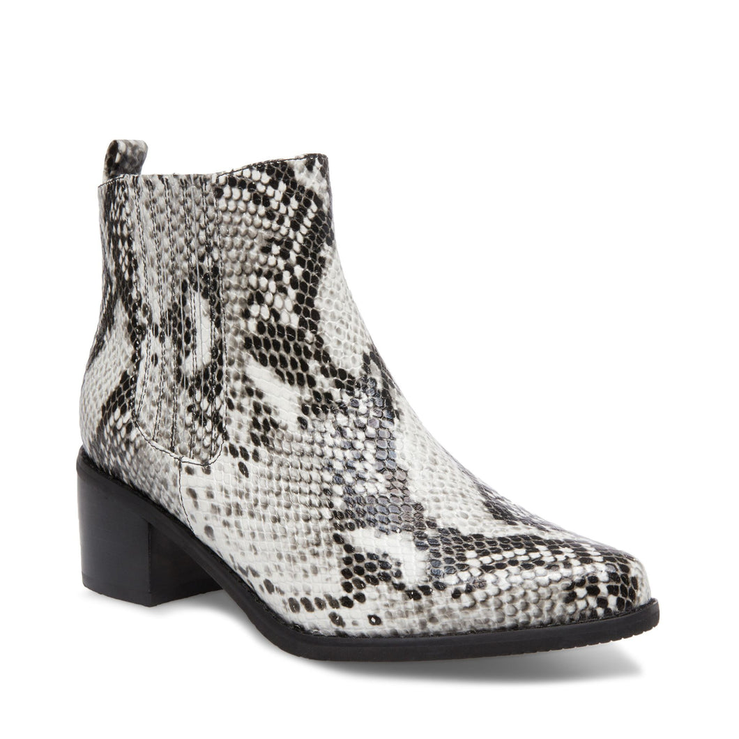 Elvina Waterproof Bootie in Natural Snakeskin by Blondo