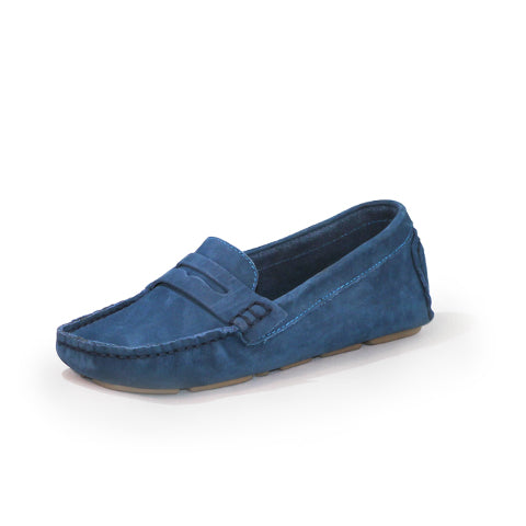 Tradd Shoe in Navy by Charleston Shoe Company