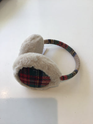 Mallory Plaid Earmuffs by Top it Off