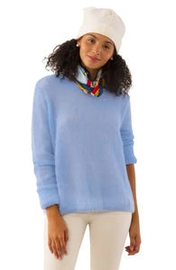 Mohair Sweater in Periwinkle by Gretchen Scott