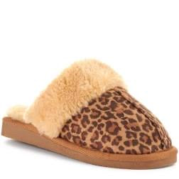 Snooze Slipper in Leopard Print by Corky's