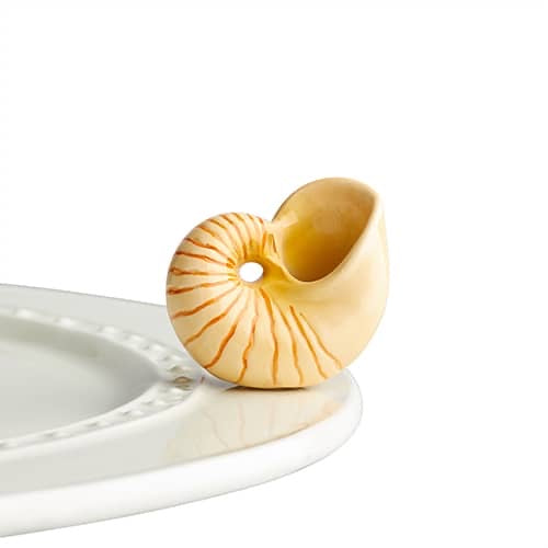 She sells Sea Shells shell mini accessory by Nora Fleming