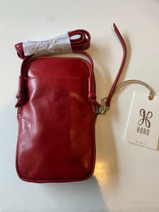 Fate Crossbody in Garnet by Hobo Handbags
