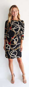 Sabine Dress in Ribbons and Chains by Jude Connally