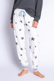 Wish Upon a Star Jogger Pajamas in Ivory by Pj Salvage