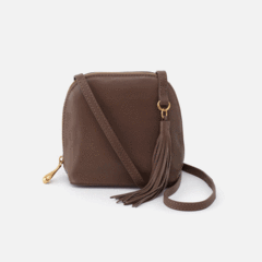 Nash Leather Crossbody Bag in Brown by Hobo Bags