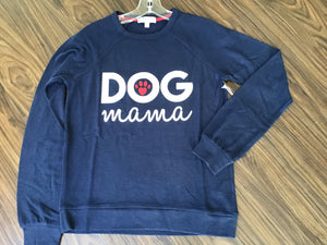 Dog Mama Tee Shirt in Navy by PJ Salvage