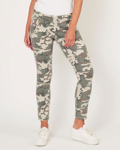 Camouflage Pants in Green by Suzy D