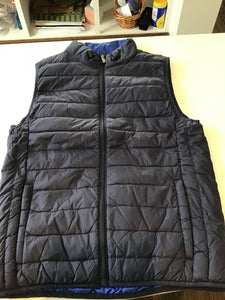 Men's Puffer Vest in Navy by Bullington Clothing