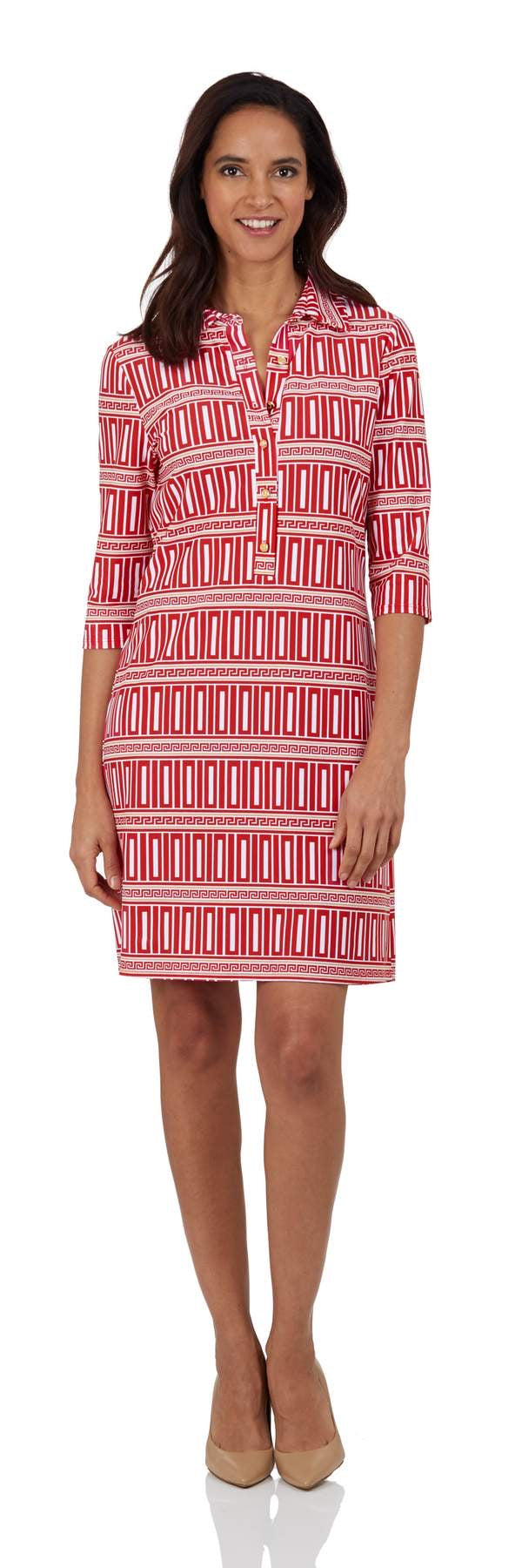 Susanna Dress in Corinthian Cinnabar by Jude Connally
