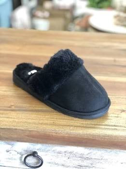 Snooze Slipper in Black by Corky's