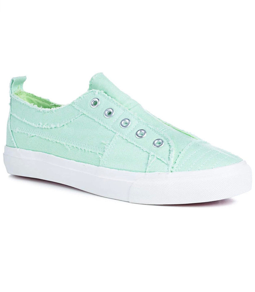 Babalu sneaker in Mint by Corky's