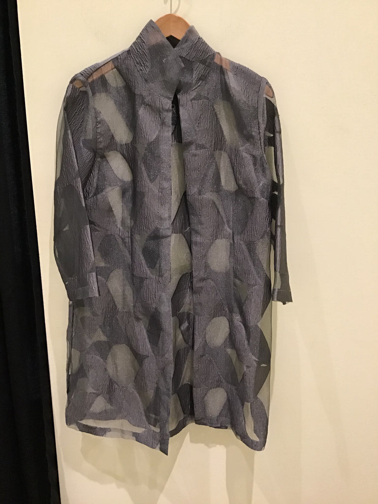 Rona Jacket in Gary Pewter by Connie Roberson