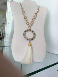 FWP w/Margarite Cream Tassel by Julie Ryan
