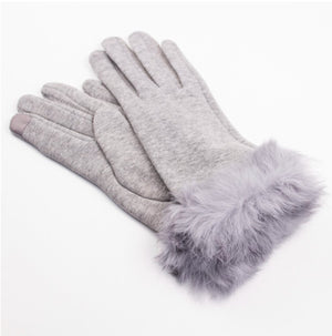 Ashtyn Texting gloves in grey by Royal Standard