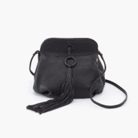 Leather Birdie Bag in Black by Hobo Bags