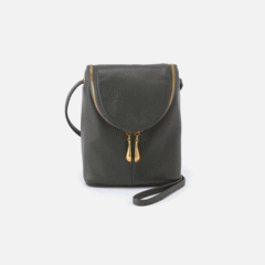 Leather 'Fern' Crossbody Bag in Sage Brush by Hobo Bags