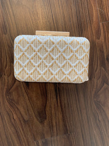 Natural Cicley Cross Body Clutch by Urban Expressions