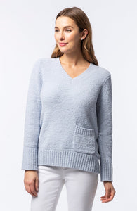 Fluffy Sweater in Seamist by Tyler Boe