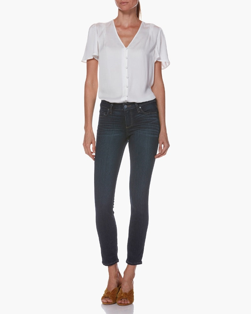 DIANA HIGH RISE FAB AB RELAXED FIT SKINNY by Kut Jeans  (GRATEFUL WASH)