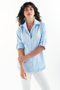 Joey Shirt in Light Blue by Finley