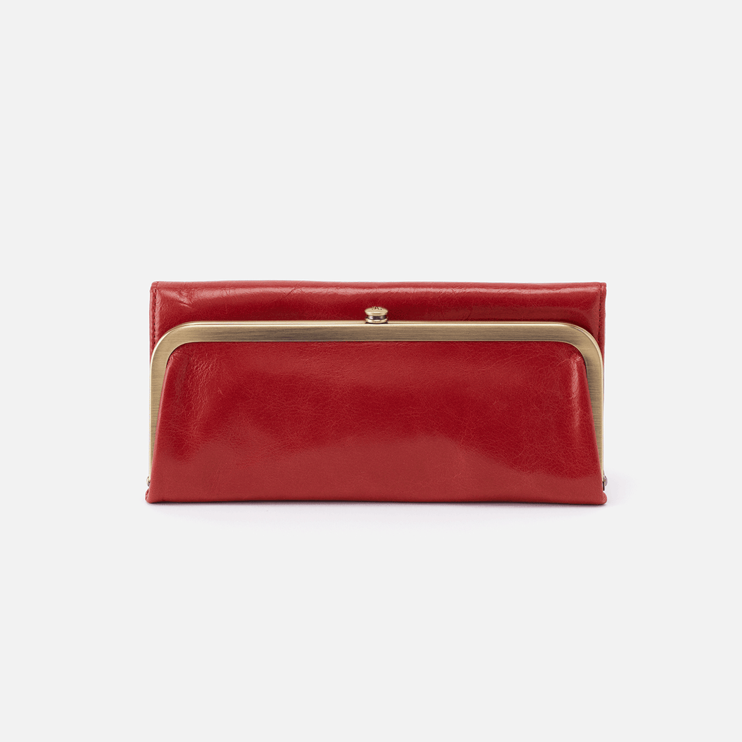 Rachel Wallet in Brick by Hobo Handbags