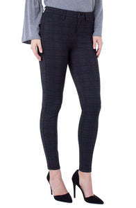 Madonna Legging Style #LM2015Z85 in Black and Grey by Liverpool Jeans