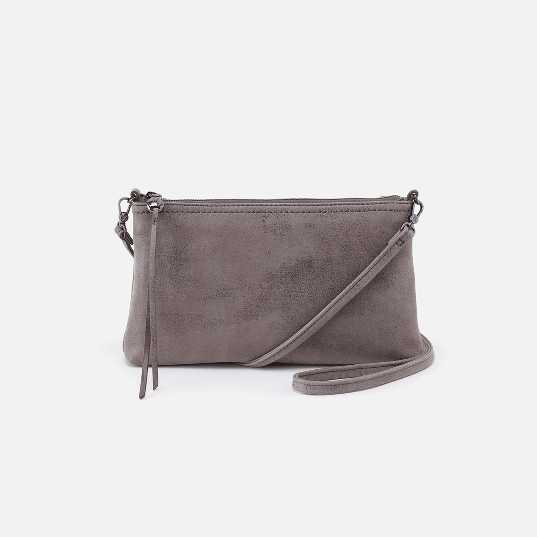 Darcy Convertible Crossbody in Titanium by Hobo Handbags