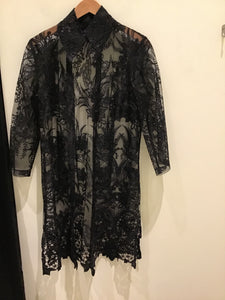 Rona Show Stopper Jacket in Black by Connie Roberson