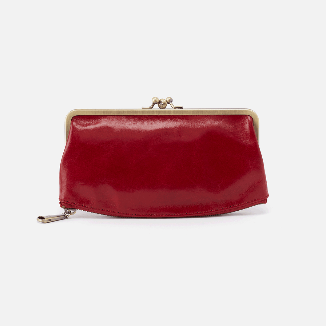 Millie Wallet in Garnet by Hobo Handbags