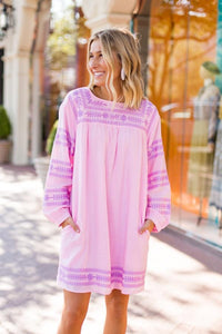 Katie Dress in Pink by J.Marie Collections