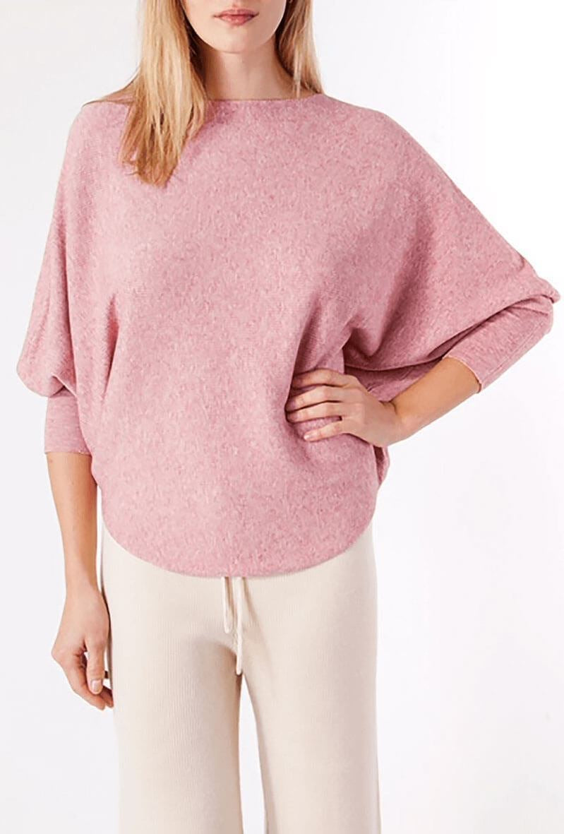 RYU Sweater in Dusty Pink by Kerisma