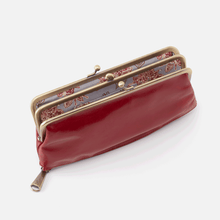 Load image into Gallery viewer, Millie Wallet in Garnet by Hobo Handbags