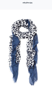 Leopard Print Scarf by Blue Pacific