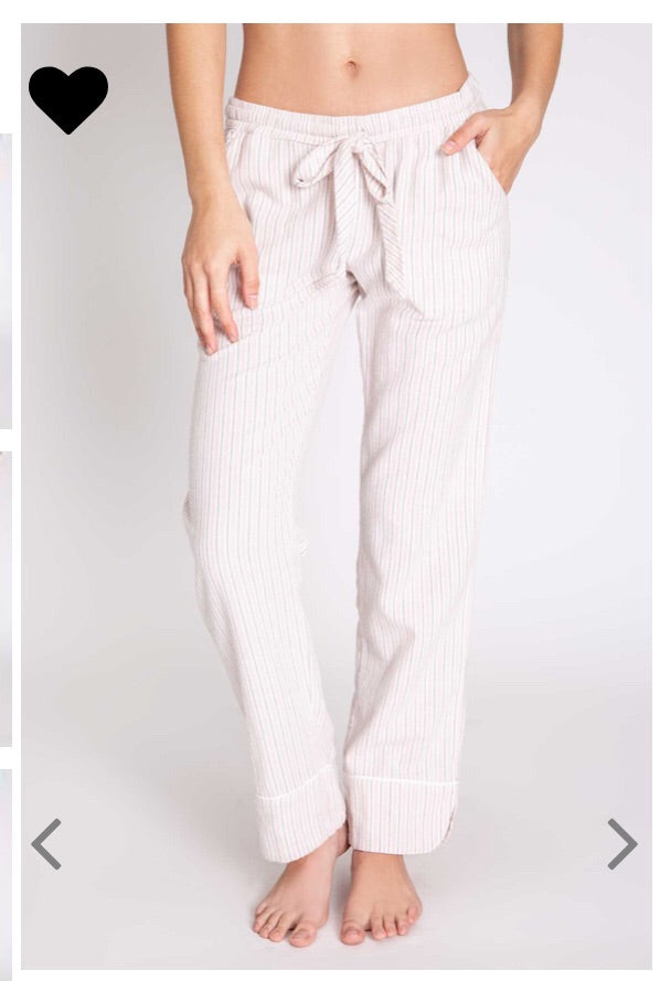 Weekend Love Lounge Striped Pants by PJ Salvage